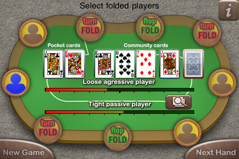 Screenshot Poker Assistant – Texas Hold'em